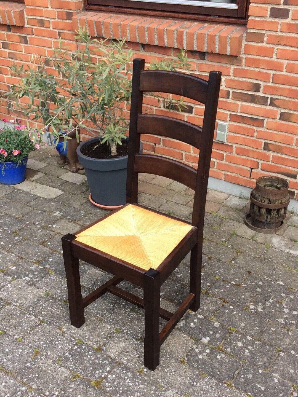 Spisebordsstol, Træ, b: 44 l: 42