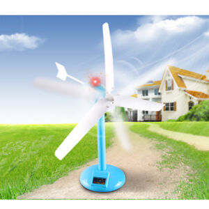 Details About Diy Wind Turbine Generator Science Puzzle Kits Kid Educational Building Toy