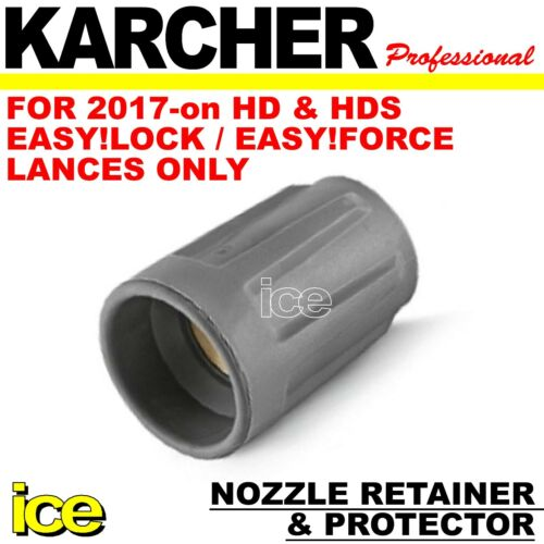 KARCHER EASY!LOCK EASY!FORCE LANCE NOZZLE RETAINER PROTECTOR CAP COVER 2017-on