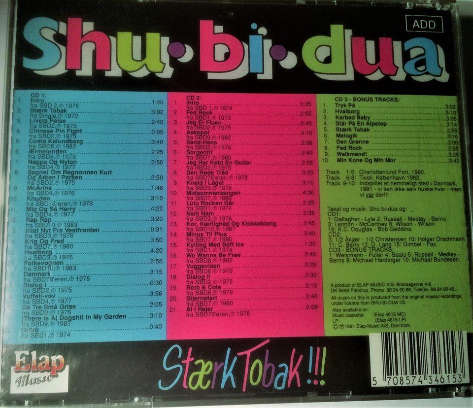 SHU-BI-DUA: Stærk tobak (3dobbelt CD-Album), rock