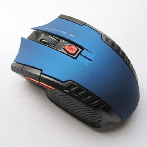 New 2.4Ghz Mini Wireless Optical Game Mouse Mice/& USB Receiver For PC Laptop