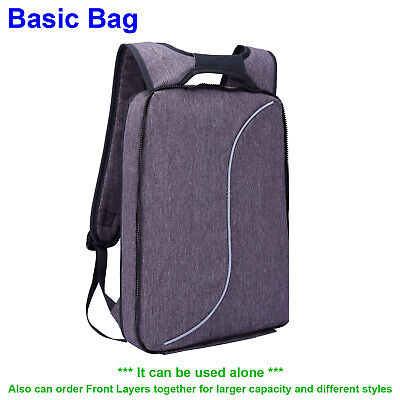 One Backpack Two Styles Slim 15.6 Inch Laptop School Bag For Women Men Teenagers