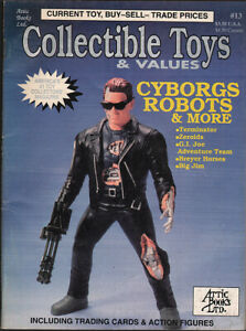 COLLECTIBLE-TOYS-amp-VALUES-13-Cyborgs-amp-Robots-issue-VFine-condition