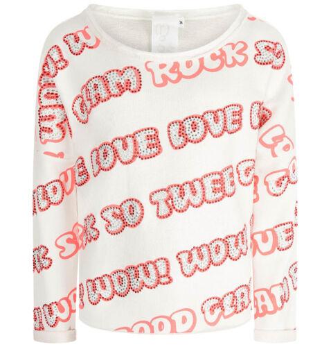 schriftprint Sweatshirt M Ainsi TWEE BY MISS GRANT nouveau/% Sale/% Milk-NEON