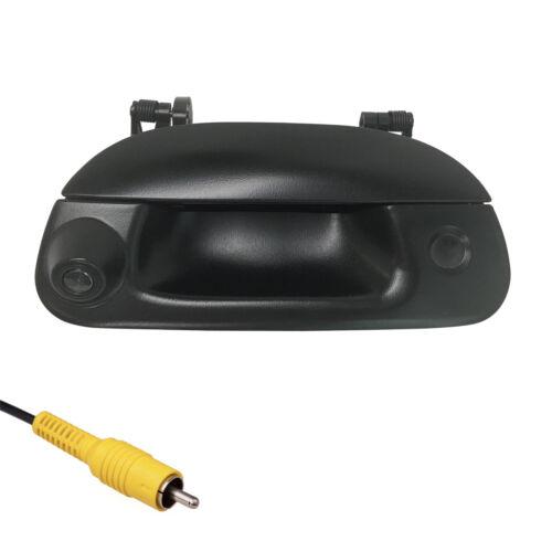 Ford 1997-2007 Black Tailgate Backup Camera Handle F150 F250 F350 w// Key Plug