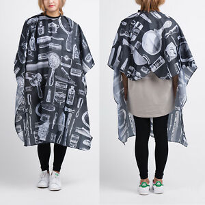 Hair-Cutting-Cut-Hairdressing-Barbers-Cape-Gown-Adult-Cloth-Apron-Salon-Beauty