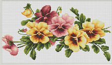 ArtGoblen Counted Cross Stitch Kit - Violas