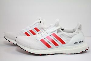 3a61ef986b0 ADIDAS ULTRA BOOST CLOUD WHITE   ACTIVE RED   CHALK WHITE DB3199