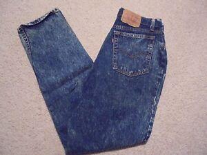 9e21143269b52 Vintage 80s LEVIS Women Acid Wash High Waist Denim Mom Jeans Missing ...