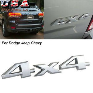 2x NEW 3D Metal V6 Emblem Decal Replacement For Highlander Fender Rear Trunk Tailgate Lid Limited Sport Automotive Accessories Decoration Silver