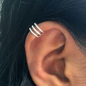 Sterling Silver Cartilage Ear Cuff