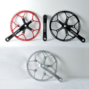 Litepro-7075-T6-Aluminum-Bike-Crank-Set-130BCD-Round-Chainring-170mm-Crankset
