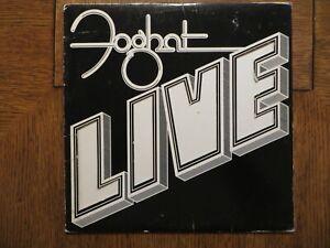 Foghat - Live - 1977 - Bearsville BRK 6971 Vinyl Record Album VG+/VG+!!!