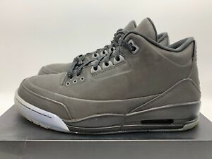 new styles 67b46 dc8c1 Details about Air Jordan 3 5Lab3 5 Lab 3 Black/Black-Clear 631603 010 Size  10
