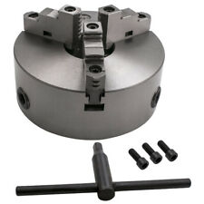 3000 Rmin K11 200 8 Inch 3 Jaw Self Centering Lathe Chuck Milling Grinding New