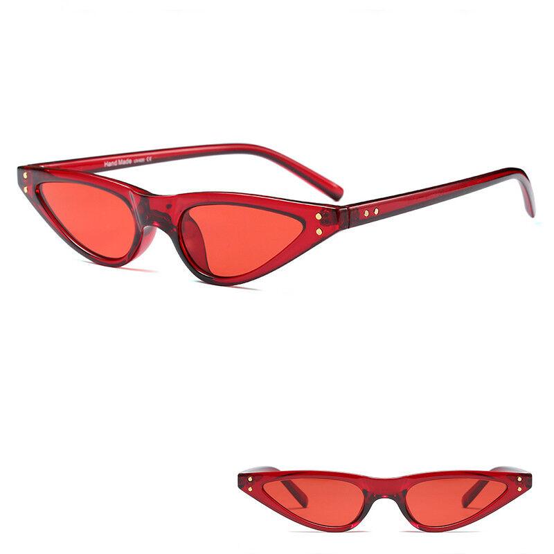 24cc5cd3ba5f7 2018 Small Cat Eye Sunglasses Outdoor Women Fashion Shades Eyeglasses  Eyewear CN 6 6 of 8 ...