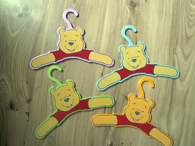 Winnie the Pooh Clothes Holder Kids Childs Toy Hanger Bear Organizer Hanging New