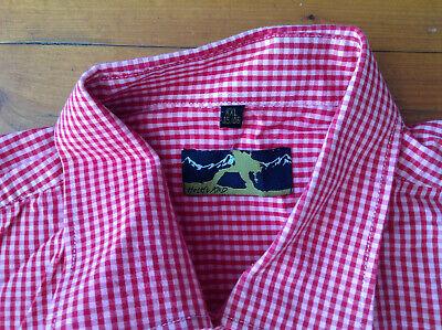 2019 Neuer Stil Hoch Knd Trachtenhemd/ Hemd Xxl(45/46)rot 100% Baumwolle Wie Neu GroßE Auswahl;
