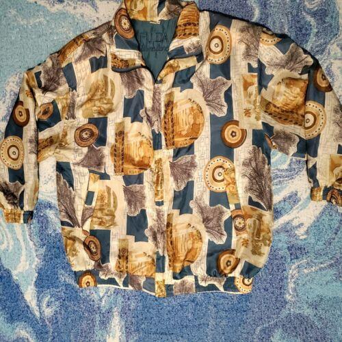 FUDA International Vintage 90s Women's Silk Bombe… - image 1