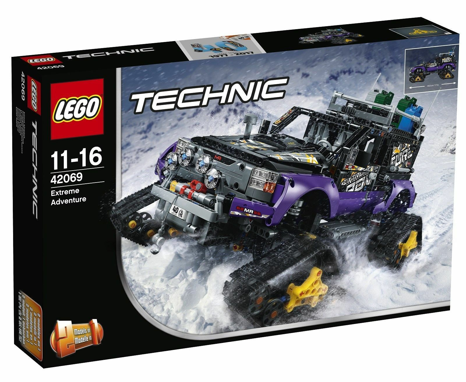 LEGO Technic 42069 Extreme Adventure NEW SEALED FREE UK EXPRESS Delivery