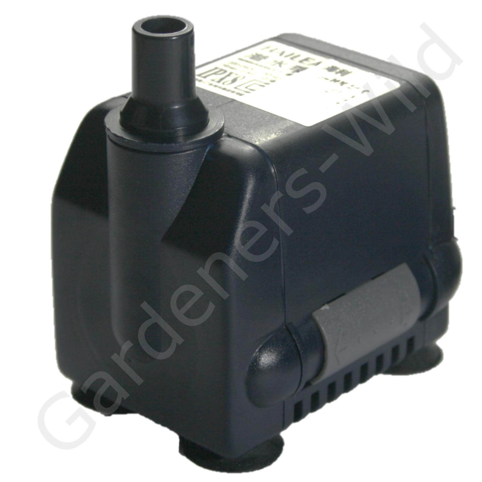 Hailea Tauchpumpe HX-800 Regelbare Pumpe 285 l//h max 0,5m 10x6x13cm B23-800