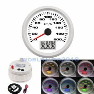 85mm-GPS-Speedometer-200km-h-Marine-Odometer-Gauge-for-Car-Truck-Boat-Motorcycle