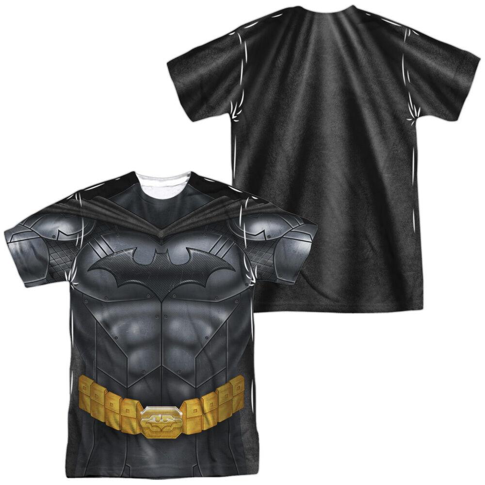 BATMAN ATHLETIC UNIFORM COSTUME Halloween Adult Men's Graphic Tee Shirt SM-3XL