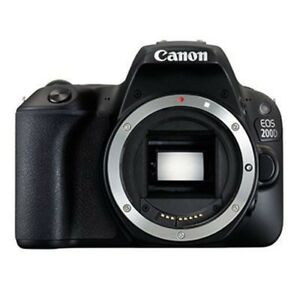 New Canon EOS 200D/ Rebel SL2 Body Only DSLR - Black [KIT BOX] Multi-language 13803290790