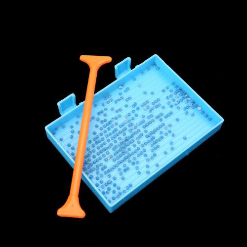 4Pcs DIY 5D Diamond Painting Rhinestone Plate Tray Cross Stitch Craft Tool