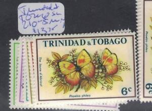 Enthousiaste Trinidad & Tobago Papillon Sc 210-5 Neuf Sans Charnière (2dpr)-afficher Le Titre D'origine 100% D'Origine