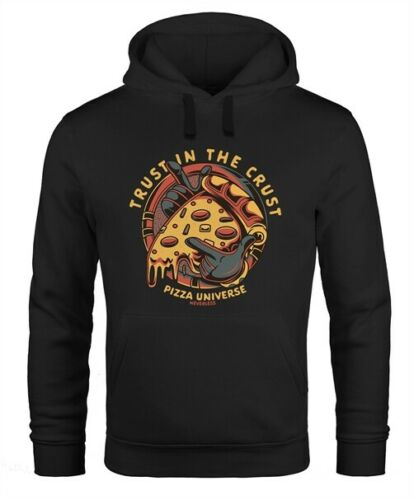 Hoodie hommes Pizza Motif Bande Dessinée Style sort Trust in the Multiplication Fashion