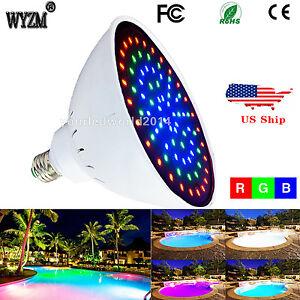 Wyzm 12v 35watt e26 rgb swimming led pool light underwater - Swimming pool lights underwater for sale ...