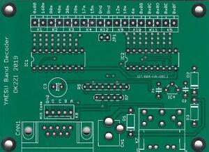 Automatic-16-outputs-band-decoder-YAESU-Microham-Elecraft-K3-leiterplatte