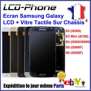 Ecran-Samsung-Galaxy-S3-S4-S5-S6-LCD-Vitre-Tactile-Home-Chassis-Blanc-Noir-Bleu