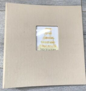 Bloomingdale S Beige Photo Album Canvas Cover 25 Pages Wedding Pictures Print Ebay