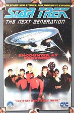 Vintage Star Trek:Next Generation UK Video Poster- Encounter Farpoint(MFPO-14)