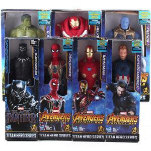 Avengers-Infinity-War-Titan-Hero-Series-Thanos-Iron-Spider-PVC-Figure-Model-Toy