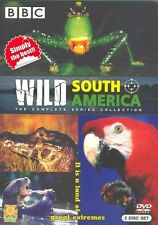 Wild South America: Andes to Amazon [DVD R0] Epic 300 min BBC Nature