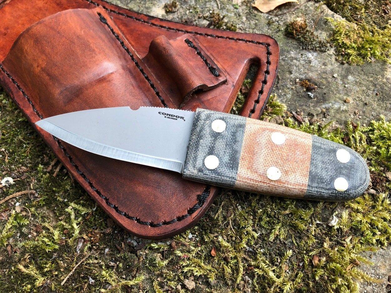 Condor primitive Bush Dagger Knife Coltello coctk 3923-26hc