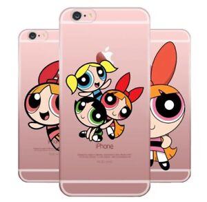 Powerpuff-Girl-Silicone-Case-iPhone-XR-XS-Max-X-8-7-6-Plus-5-Samsung-S-6-7-8-9