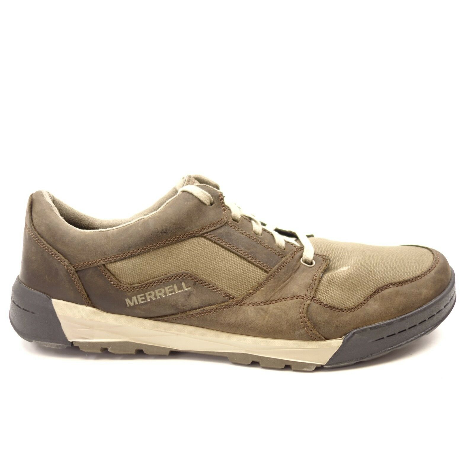 Merrell Mens Berner Shift Lace Leather Athletic Trail Hiking shoes Size US 14