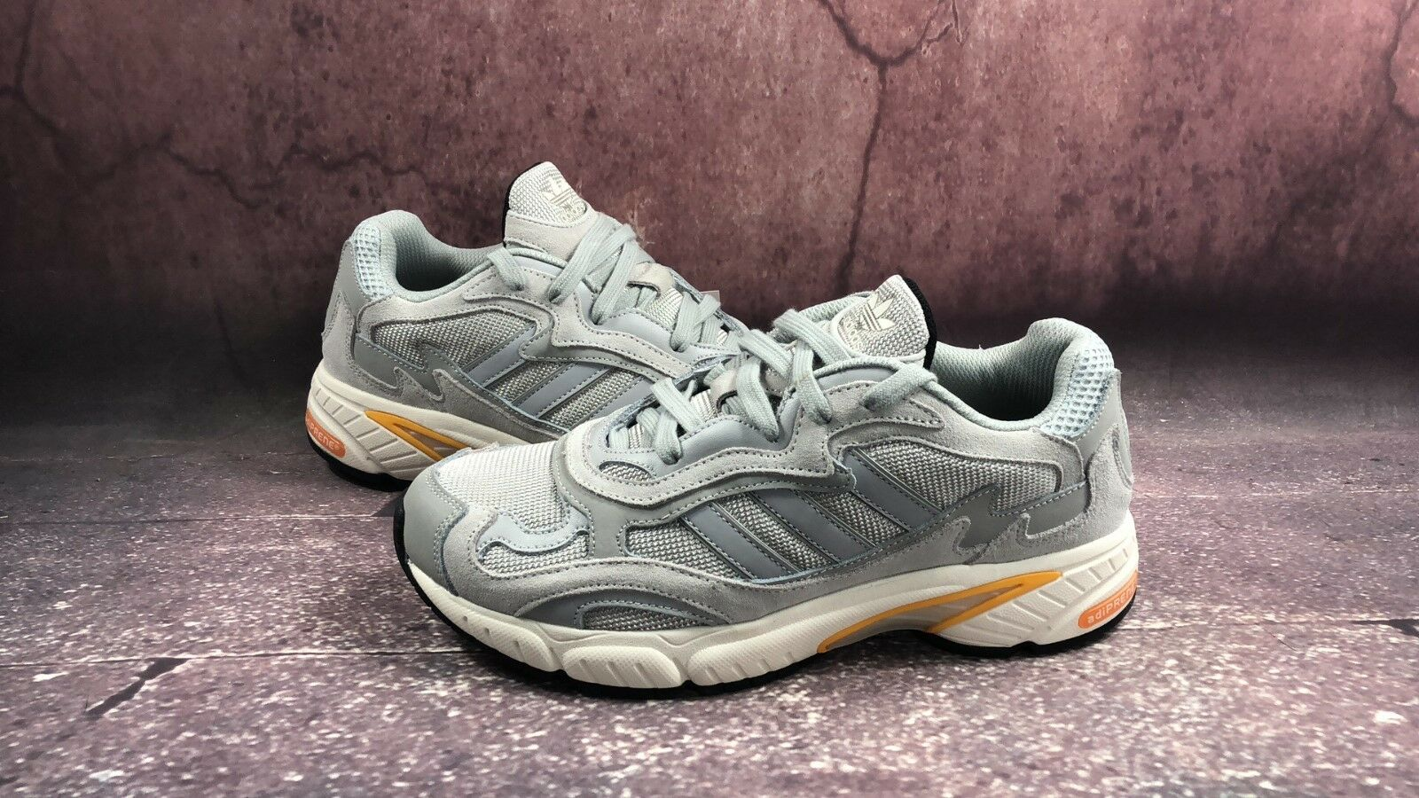 Adidas Temper Run grey,white,orange,Gr. 40, F36312