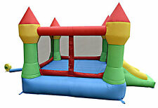 Castle Jumper Bounce House Inflatable Moonwalk Bouncer Slide Without Blower New