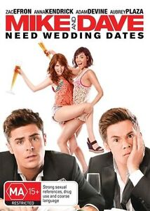 Zac-Efron-Movie-034-Mike-And-Dave-Need-Wedding-Dates-034-DVD-REGION-4-AUSTRALIA