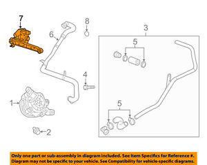 Details about GM OEM A I R  System-Check Valve 12623091