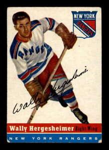 1954-Topps-22-Wally-Hergesheimer-VGEX-X1498355