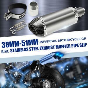 Universel-38-51mm-silencieux-d-039-echappement-amovible-db-killer-fibre-carbone-moto