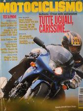 MOTOCICLISMO n°8 1995 Yamaha SZR 660 Suzuki RF900R RS Yamaha TT250 Raid [P31]