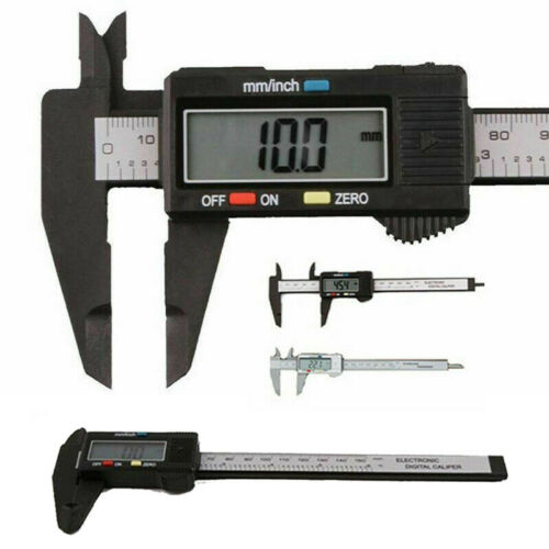Nonius Elektronischer digitaler Messschieber Messgerät Mikrometer 150 mm