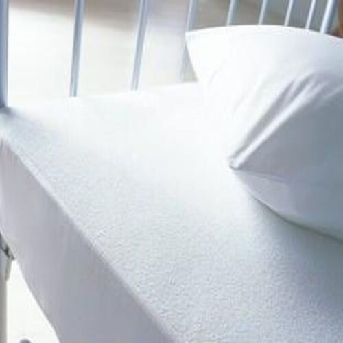 Terry Waterproof Mattress Protector Cover Towelling All UK Sizes